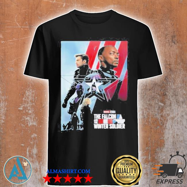 The falcon and the winter soldier Marvel studios captain America shirt