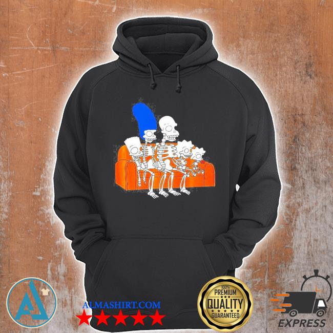 The Simpsons skeletons treehouse of horror couch gag s Unisex Hoodie