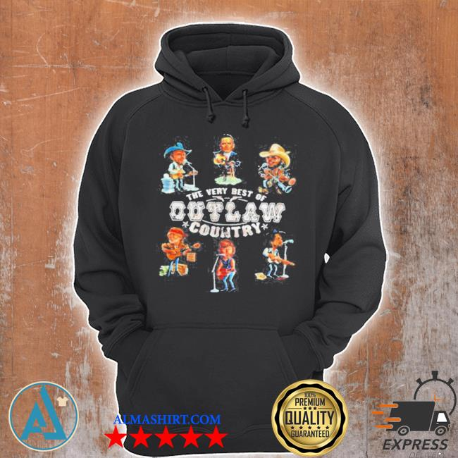 The very best of outlaw country the highwayman s Unisex Hoodie