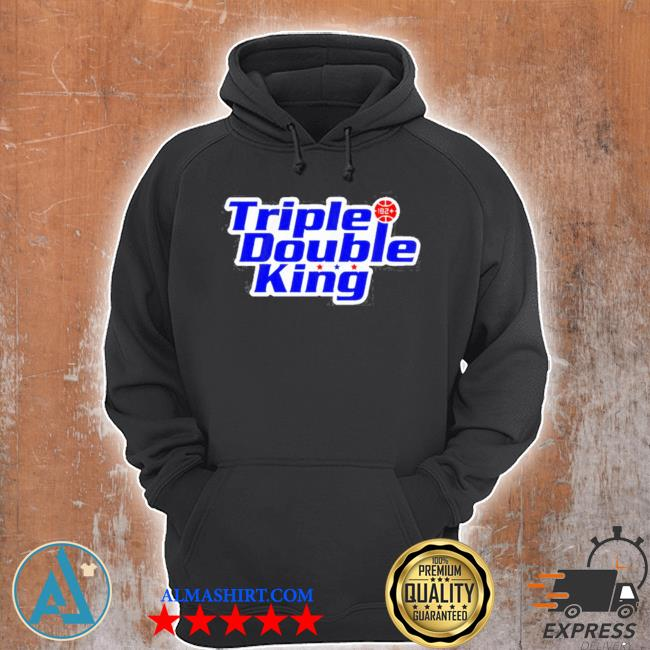 Triple double king s Unisex Hoodie