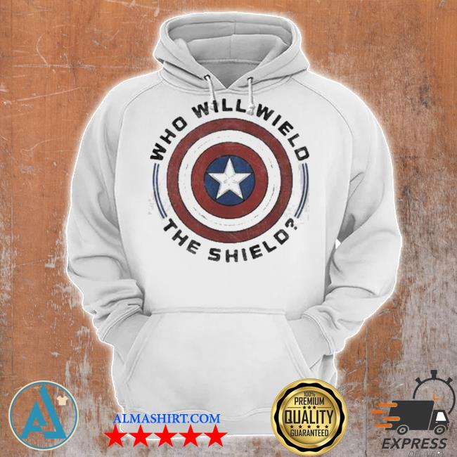 Who will wield the shield captain America s Unisex Hoodie
