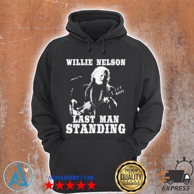 Willie nelson last man standing guitar s Unisex Hoodie