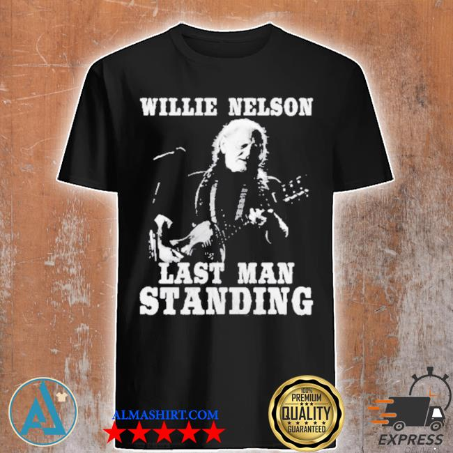 Willie nelson last man standing guitar shirt