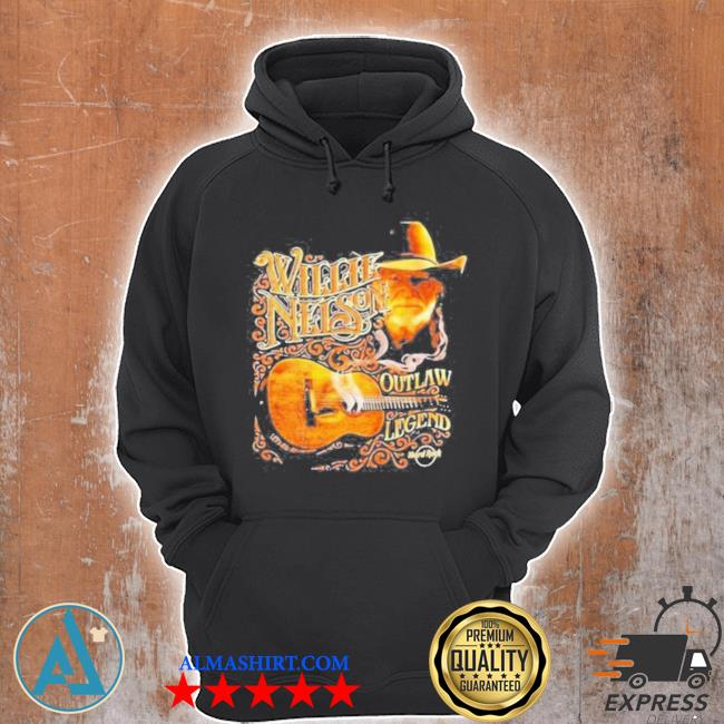 Willie nelson outlaw legend s Unisex Hoodie