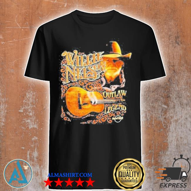 Willie nelson outlaw legend shirt