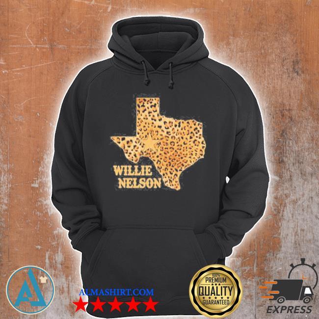 Willie nelson Texas leopard s Unisex Hoodie