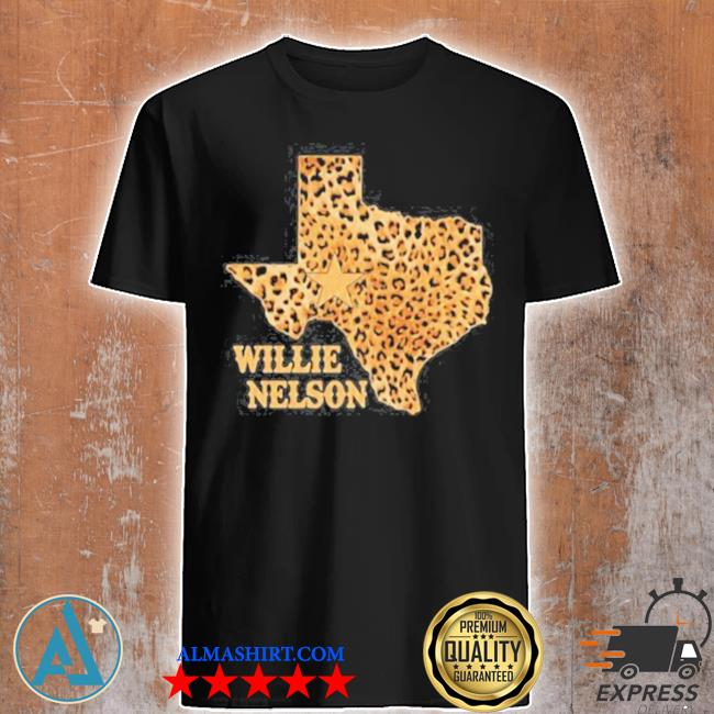 Willie nelson Texas leopard shirt